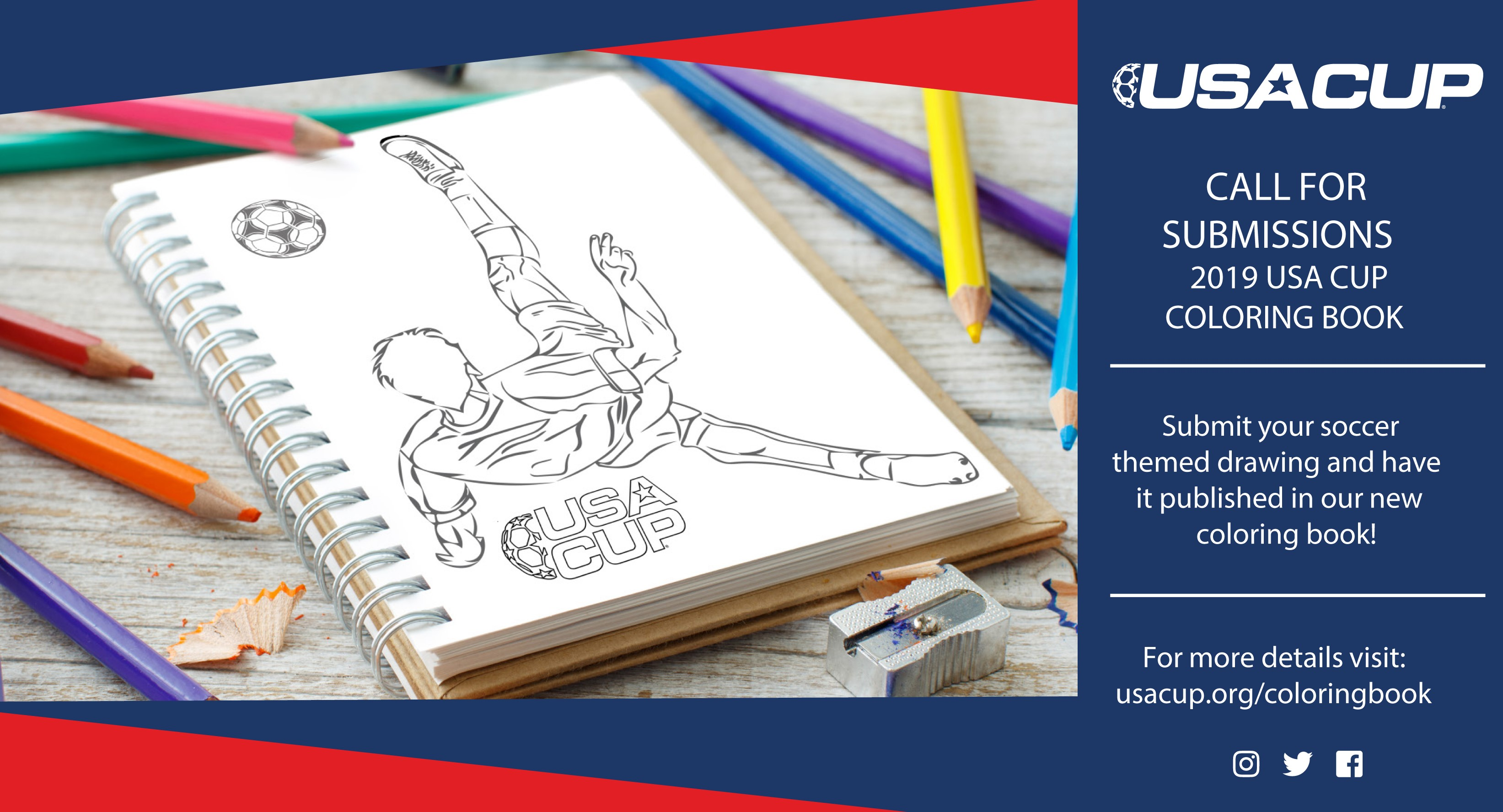 Cultivate your creativity! Submit a drawing to the USA CUP Coloring