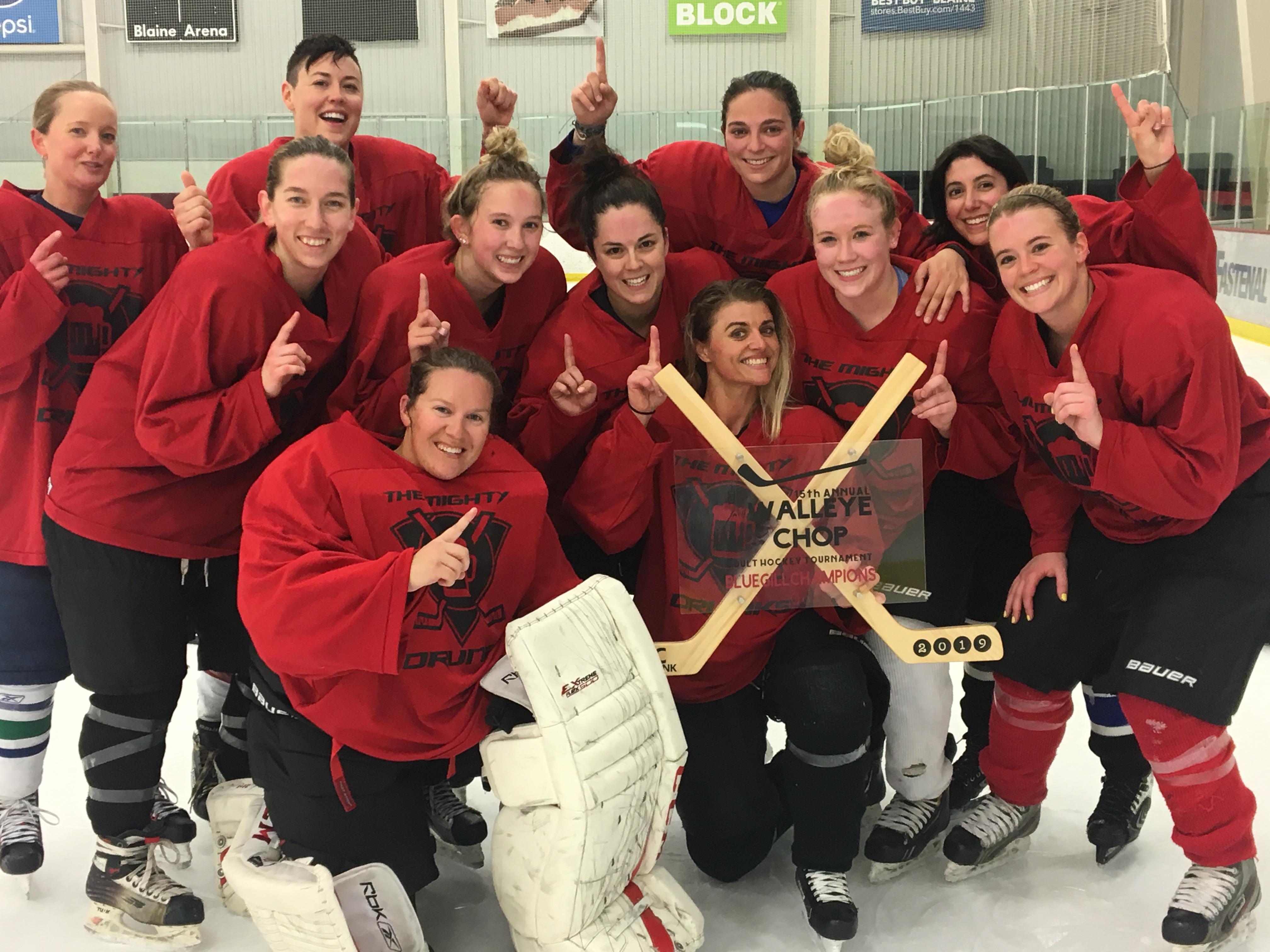 The Mighty Drunks- Bluegill Division-Women's B