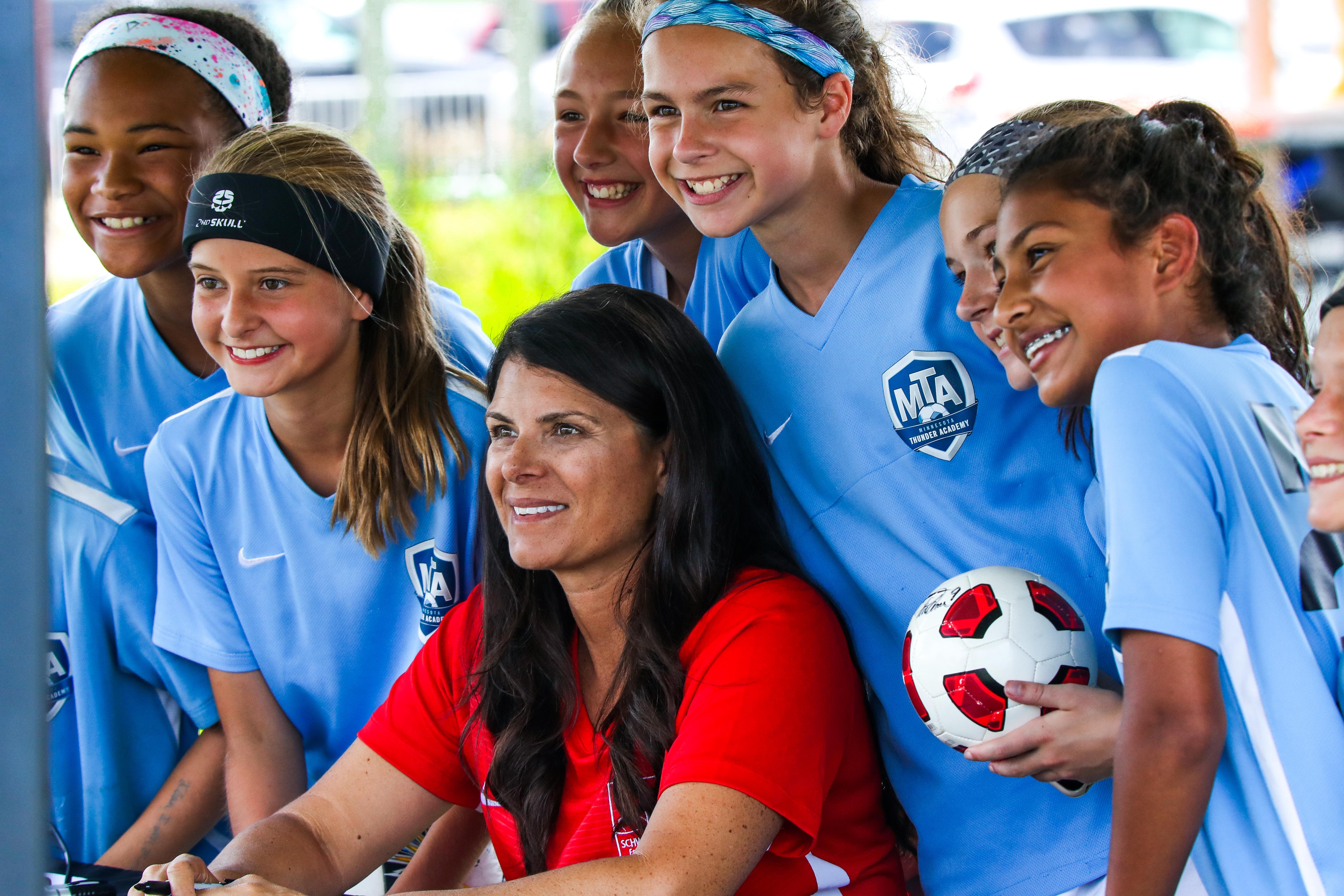 Celebrity Apperances at USA CUP 12