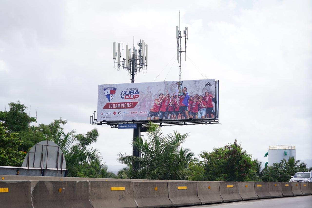Panama City billboard 1