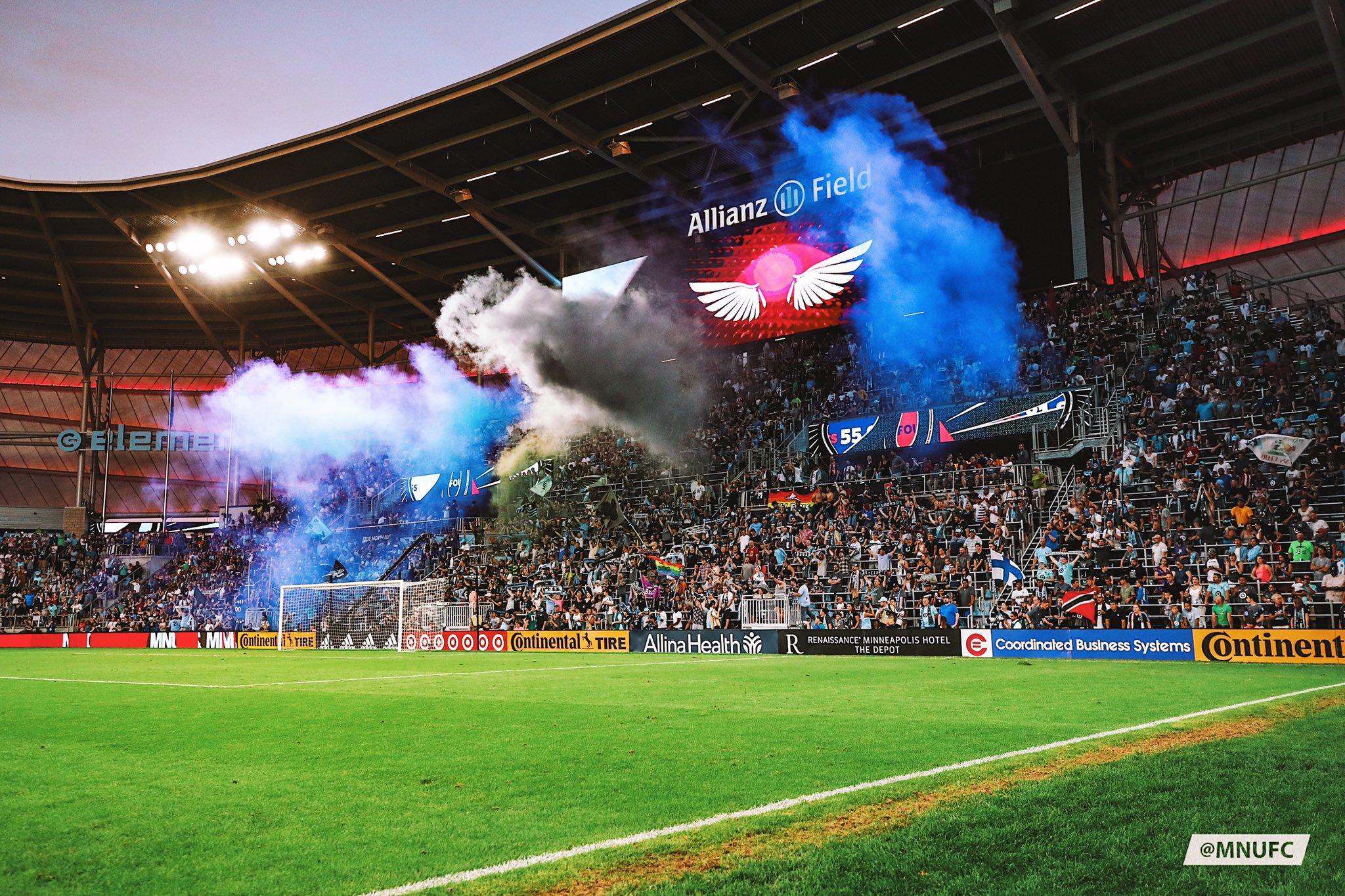 Allianz Field photo from Twitter