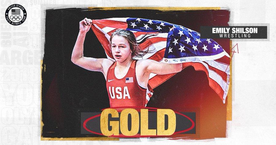 Emily Shilson Team USA Tweet