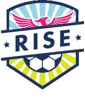 rise soccer club logo
