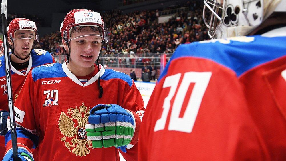 Kirill Kaprizov image via KHL on Twitter