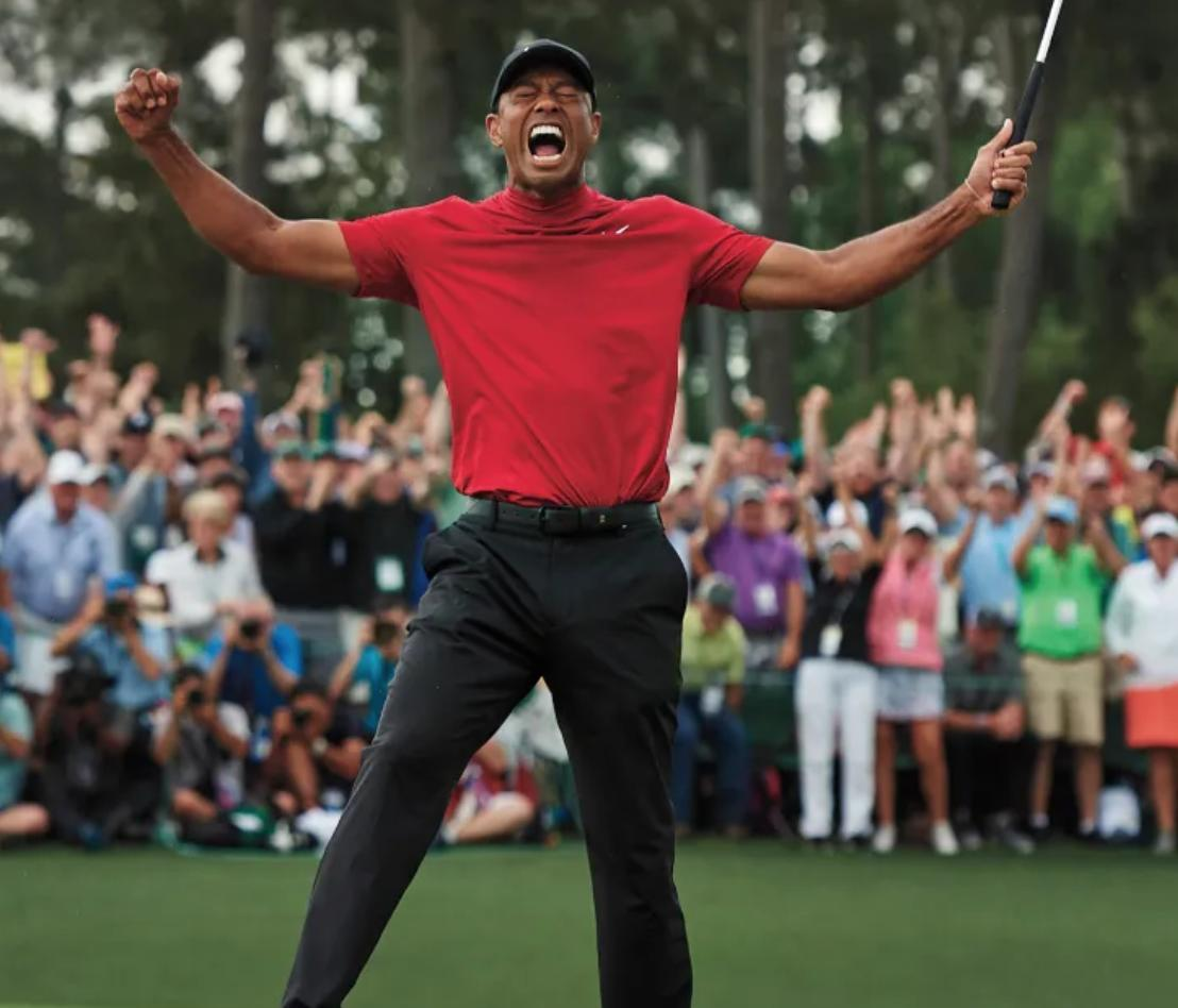 Tiger Woods via Barstool Sports