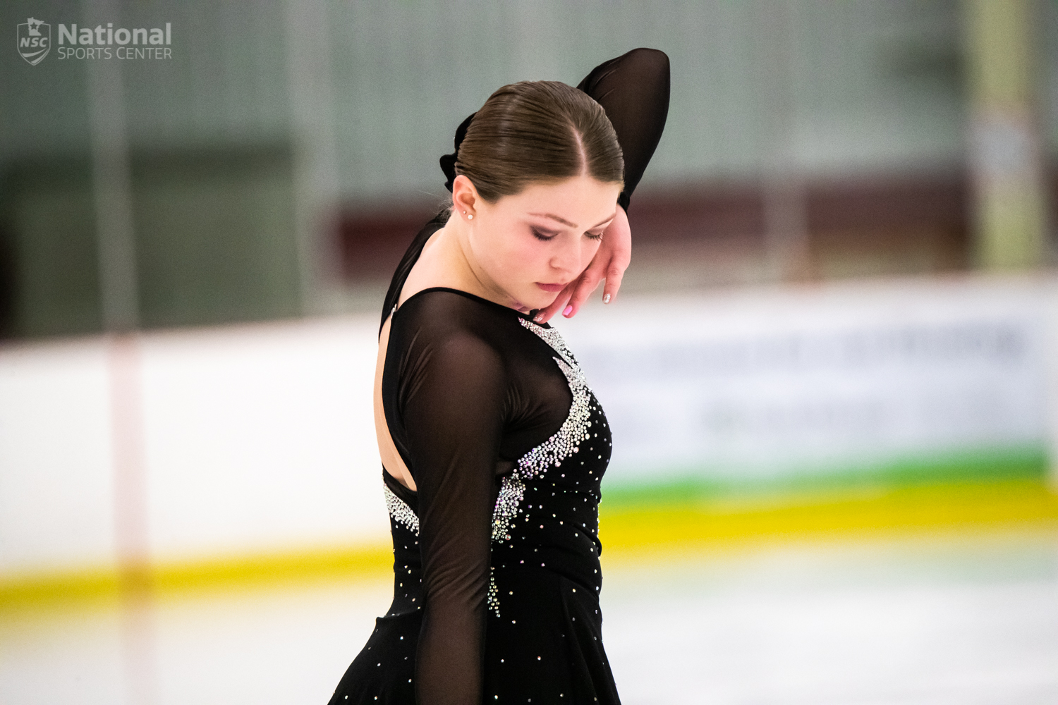 The NSC Skating School put on Frosty Blades, its annual figure skating competition at the Super Rink.