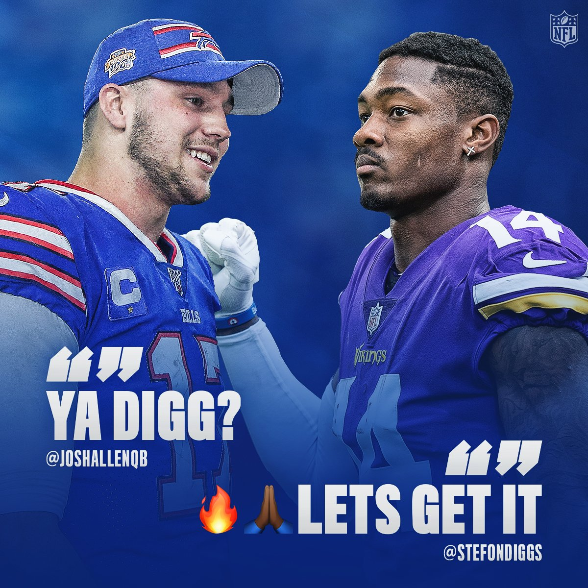 NFL Diggs graphic