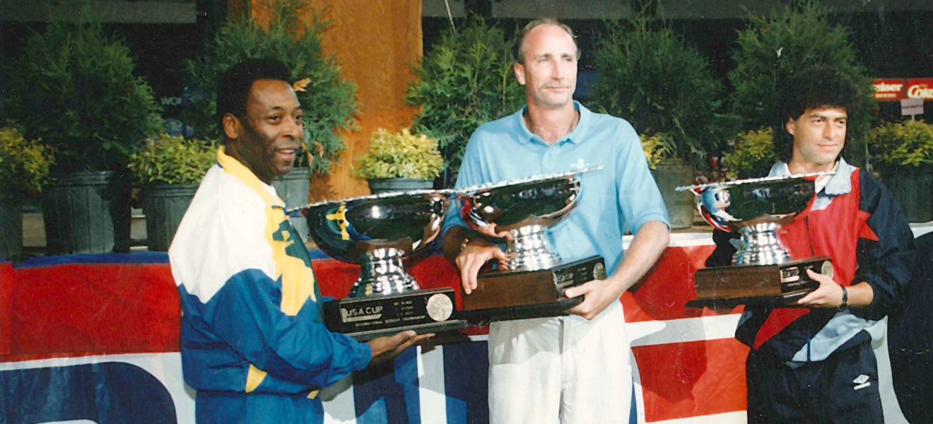 Pele at USA CUP