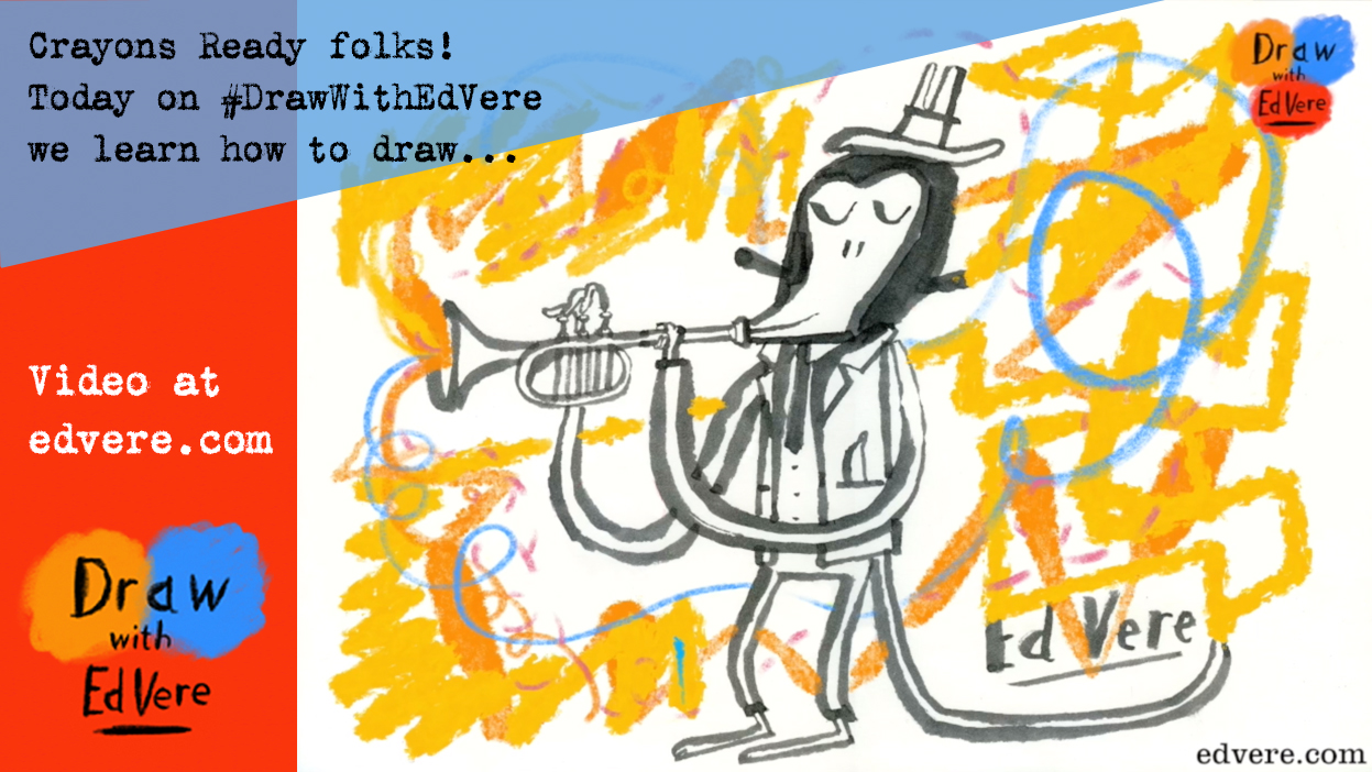draw with ed vere via twitter