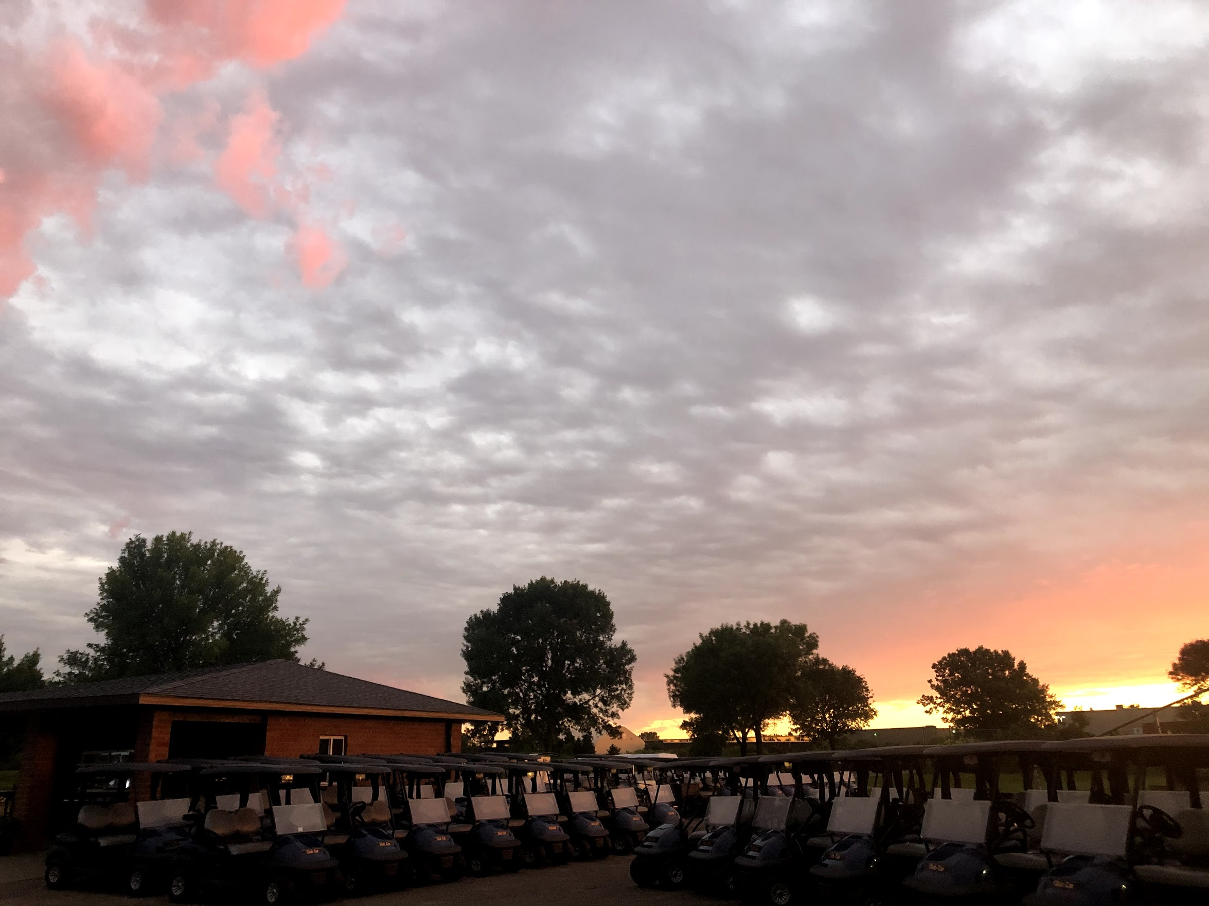 Victory Links Golf Course Sunset