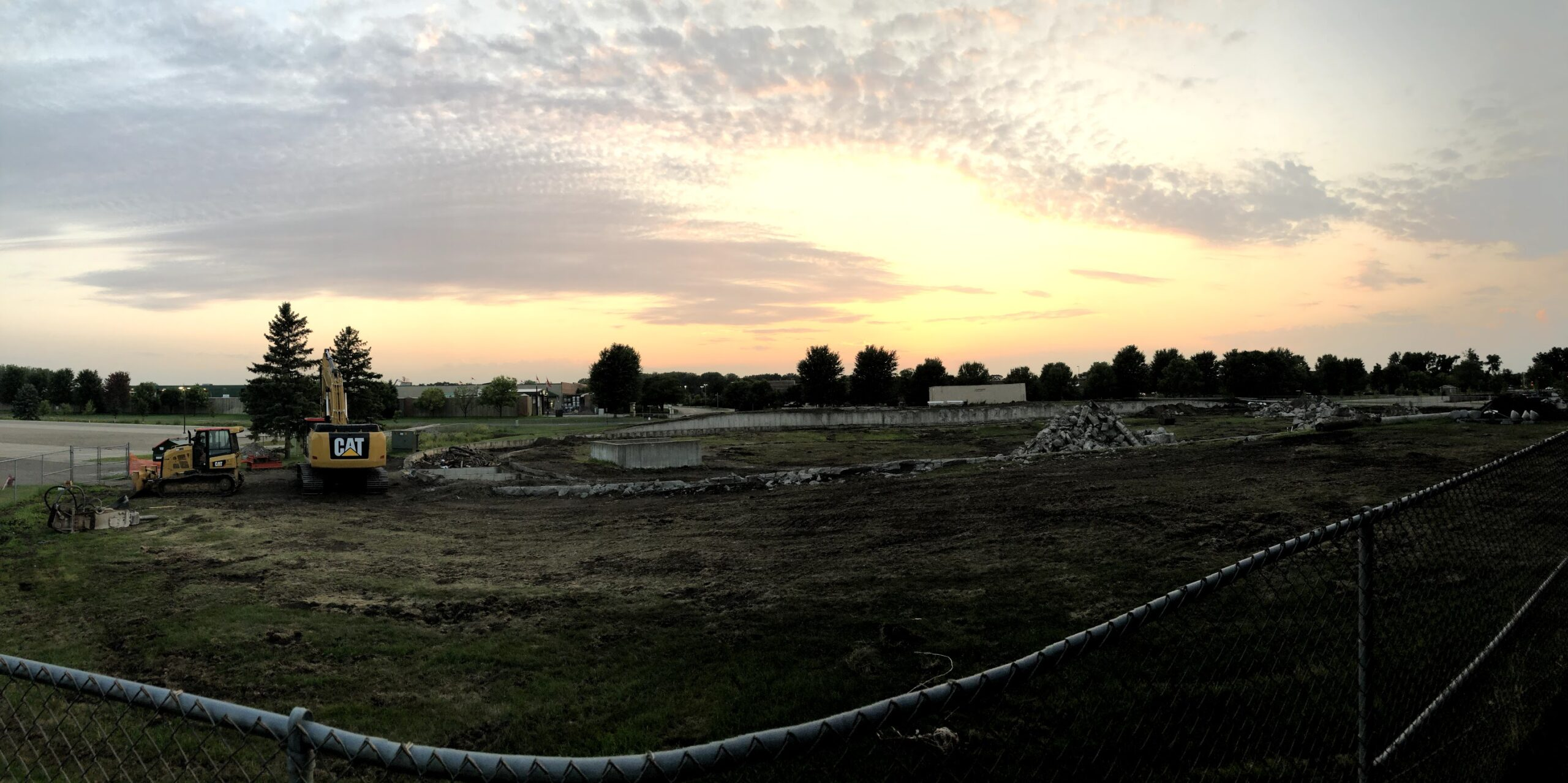 Velodrome Construction 2020