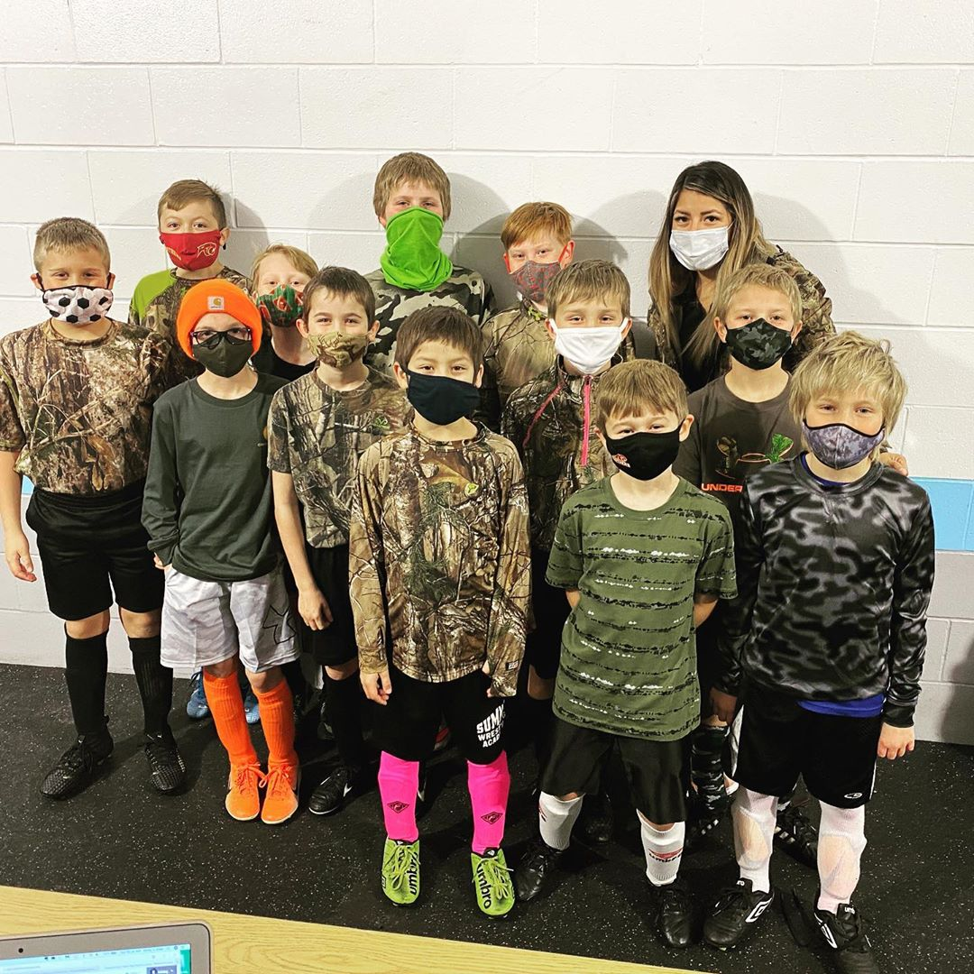 Soccer teams dressed up for Kick or Treat, the NSC's annual Halloween tournament.