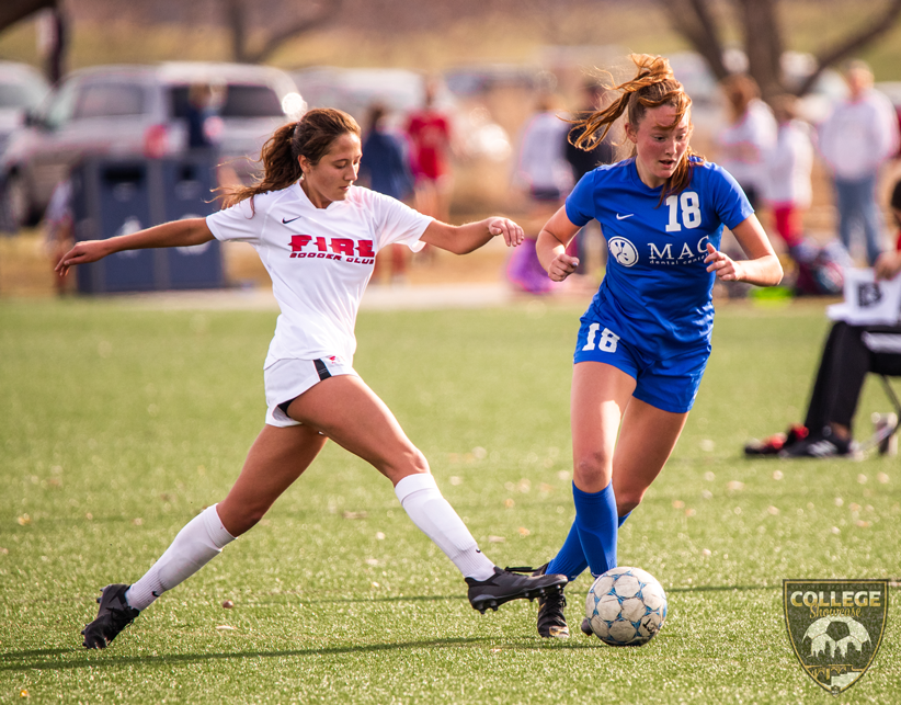 Teams looking to impress college coaches participated in the NSC College Showcase.